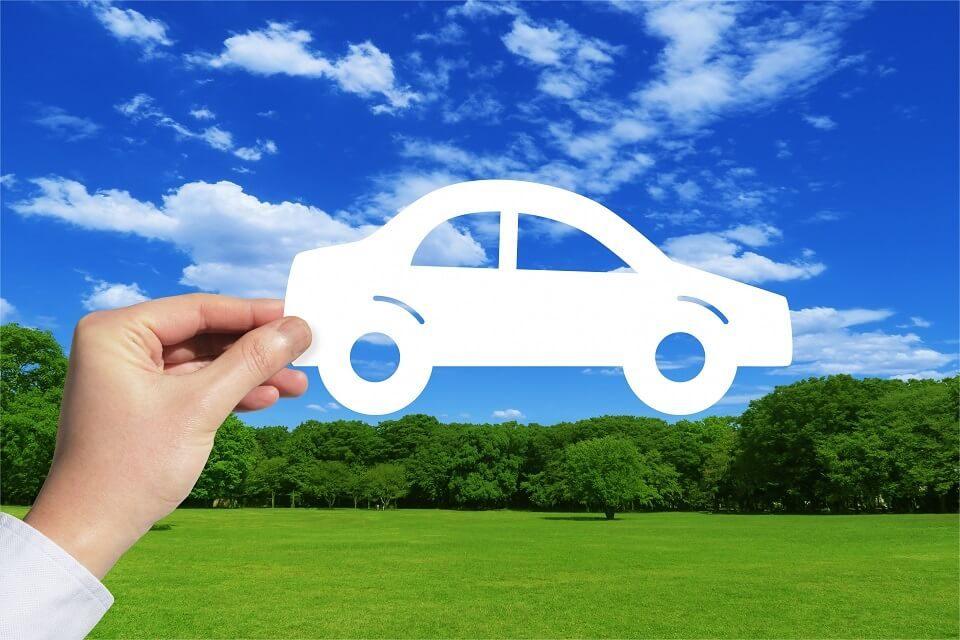 自動車と自然
